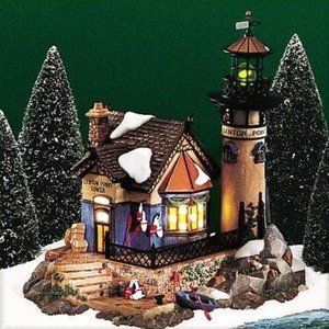 Department 56 Dickens Village  Lynton Point tower